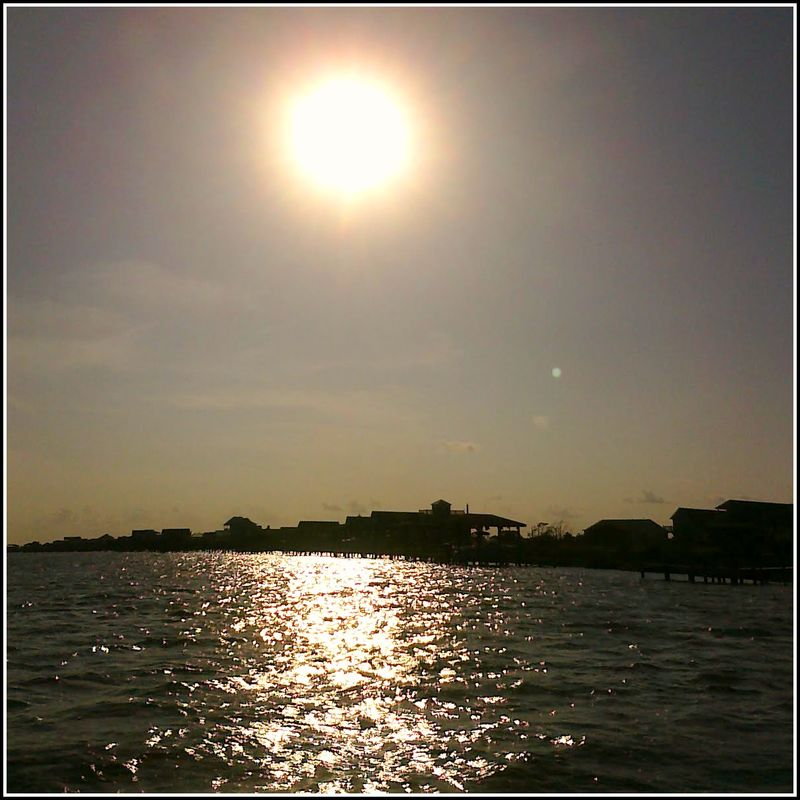 PP Sunset on boat